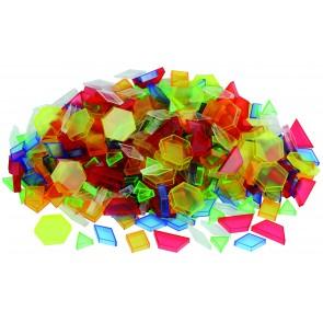 Lot de 180 pièces de blocs translucides