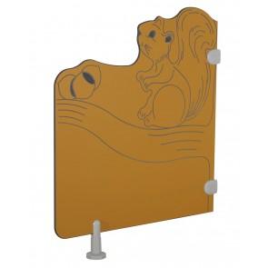 Séparations de toilette - L'écureuil