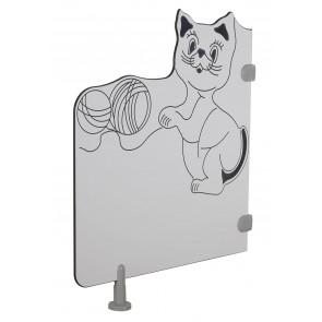 Séparations de toilette - Le chat