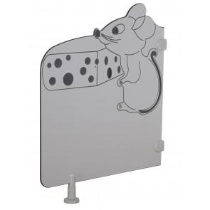 Séparations de toilette - La souris