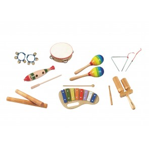 Assortiment de 8 instruments